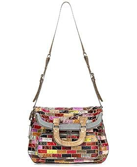 The Look for Less: Dolce & Gabbana Patchwork Snakeskin Bag