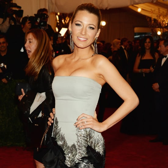 Pictures of Blake Lively in Gucci at the 2013 Met Gala Ball