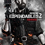 Chuck Norris as Booker in The Expendables 2.