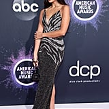 Jameela Jamil at the 2019 American Music Awards