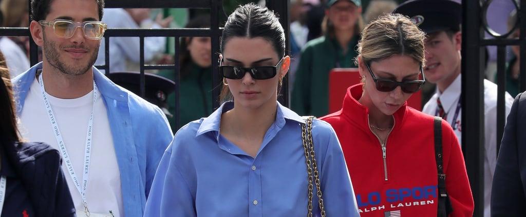 Kendall Jenner's Ralph Lauren Wimbledon Outfit July 2019