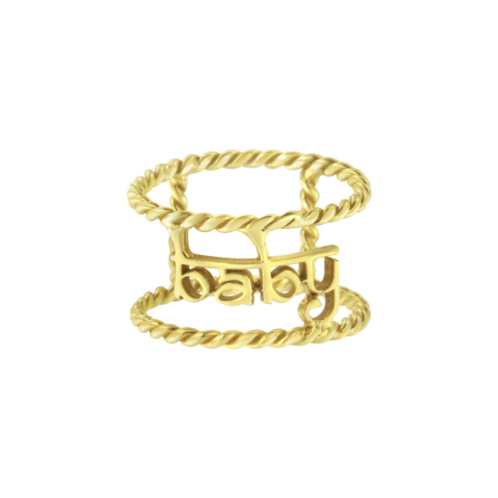 Aaryah Baby Twisted Wire Ring