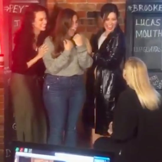 Sophia Bush, Hilarie Burton Help One Tree Hill Fan Propose