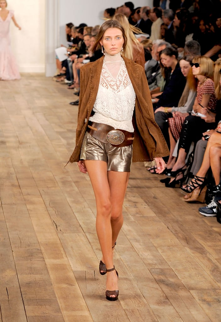 Spring 2011 New York Fashion Week: Ralph Lauren 2010-09-16 17:56:48
