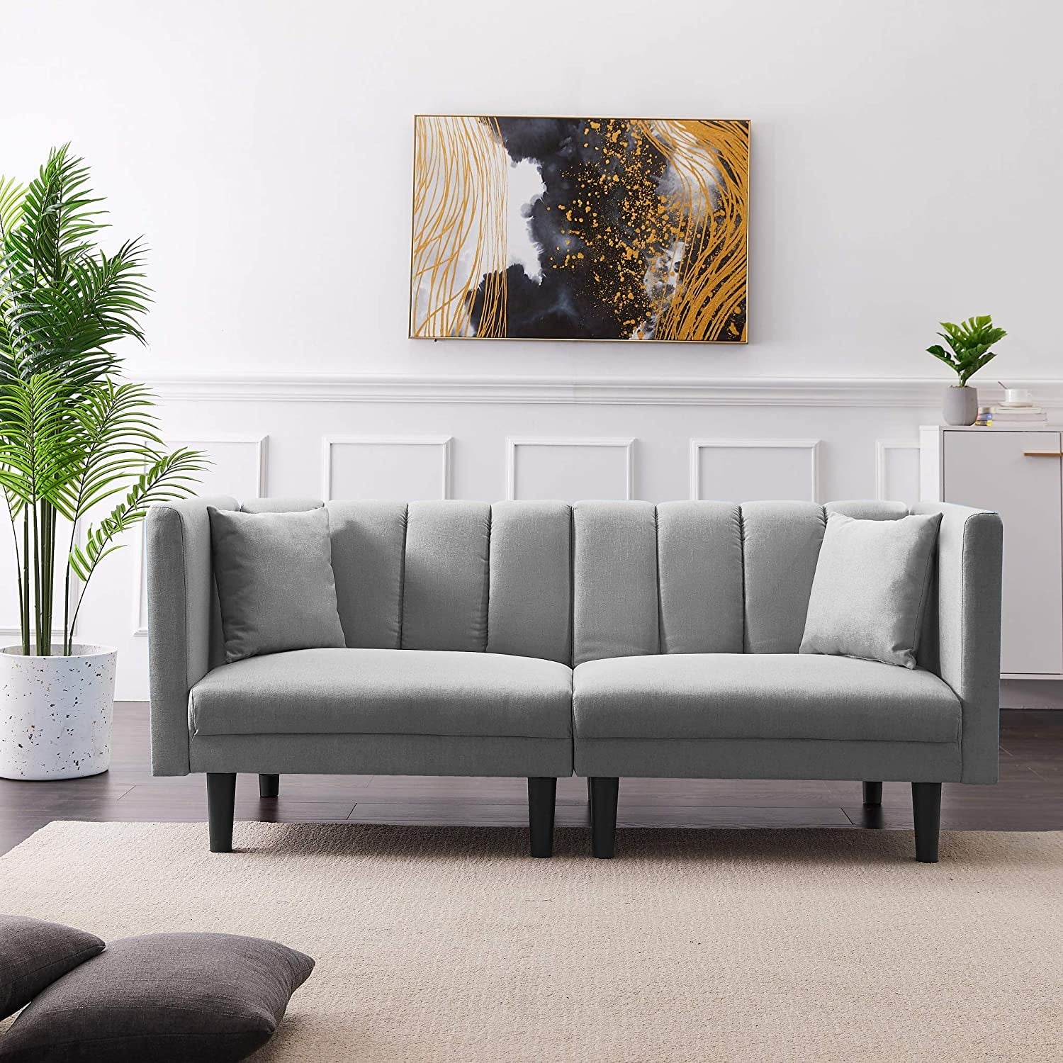 Convertible Futon Sofa Bed 40 Space Saving Furniture Pieces That Are Stylish Roomy And All From Amazon Popsugar Home Photo 4