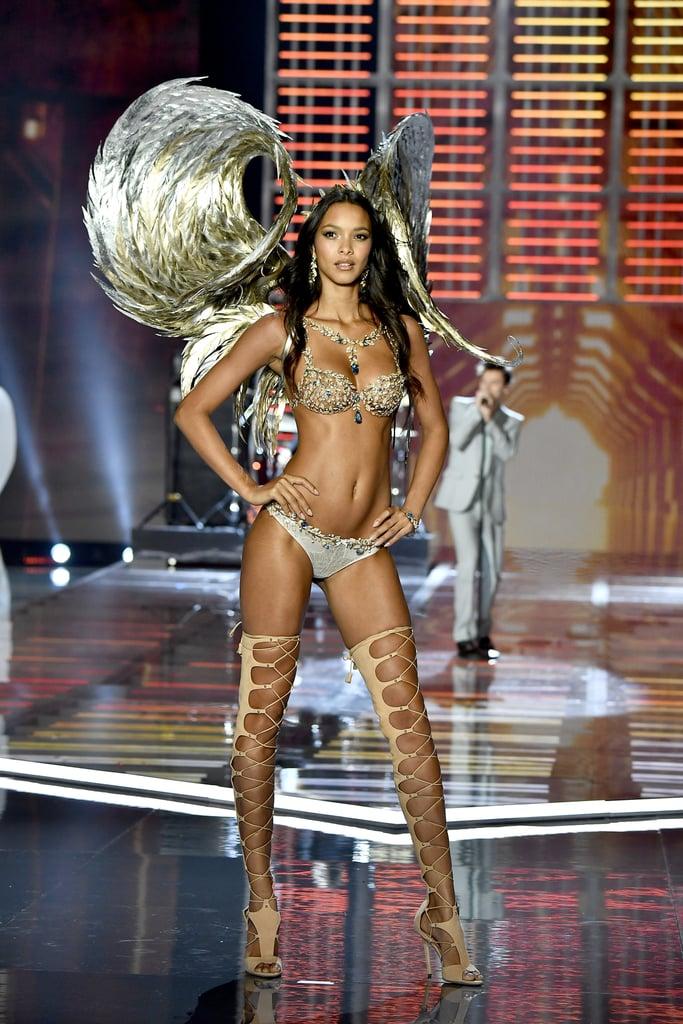 Lais Ribeiro Wore the $2 Million Fantasy Bra at the Victoria's Secret Fashion Show