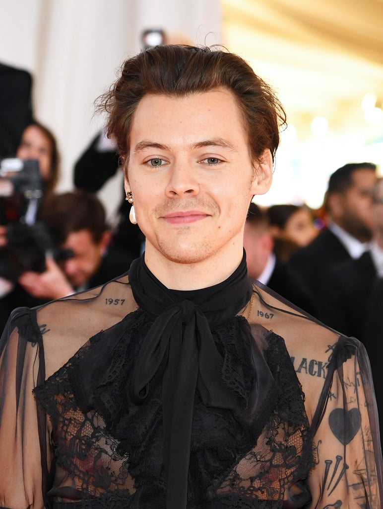 Harry Styles Made His Met Gala Debut in the Highest High-Waisted Pants I've Ever Seen