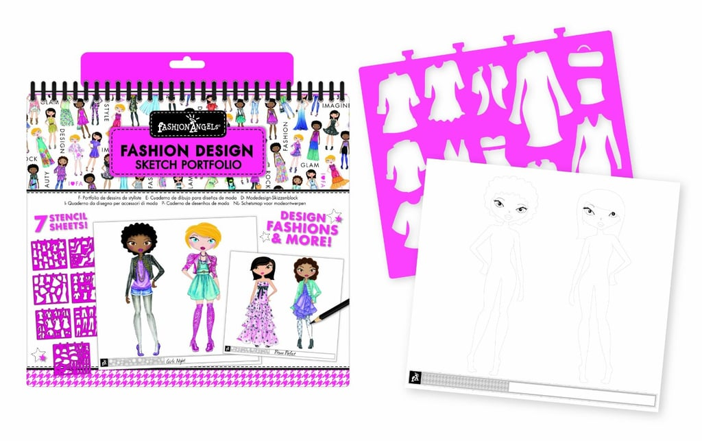 Fashion Angels Fashion Design Portfolio Toys That Get Your Tot Runway Ready Popsugar Family Photo 3