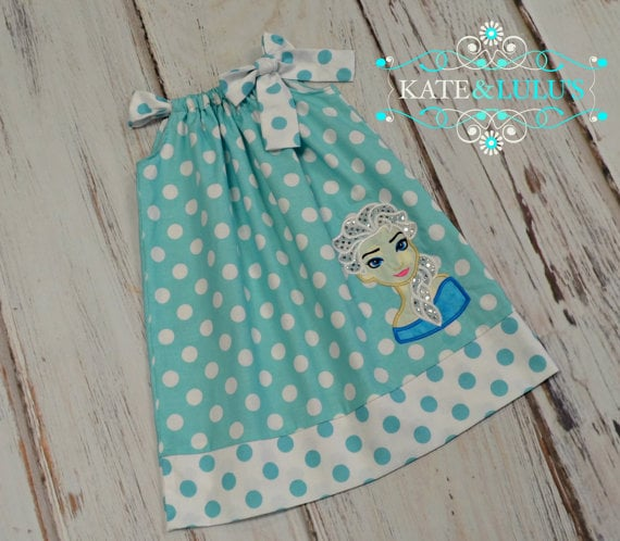Elsa Pillowcase Dress