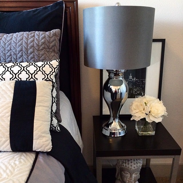 The finds: some gorgeous pillows and comfortable bedding.