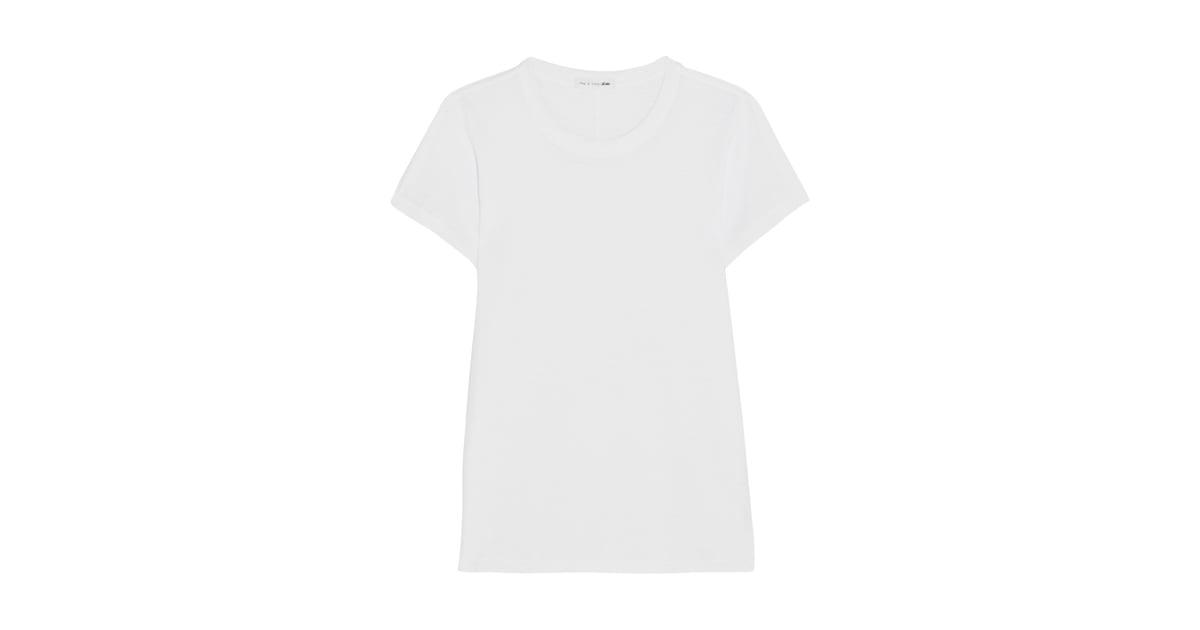 Rag bone t shirt victoria beckham wears white t shirt for Rag and bone white t shirt