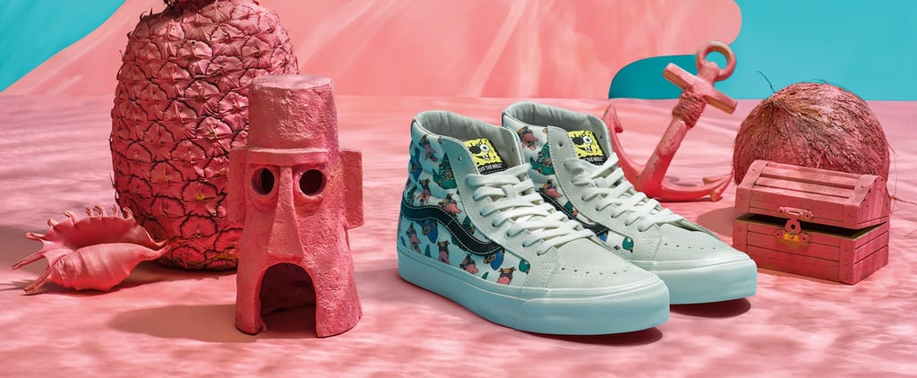 Vans Is Dropping a SpongeBob Sneaker Collection — Because Childhood Dreams DO Come True