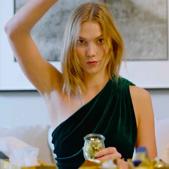 Karlie Kloss Holiday Party Video 2016