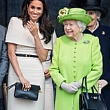 Meghan's First Appearance With Queen Elizabeth II