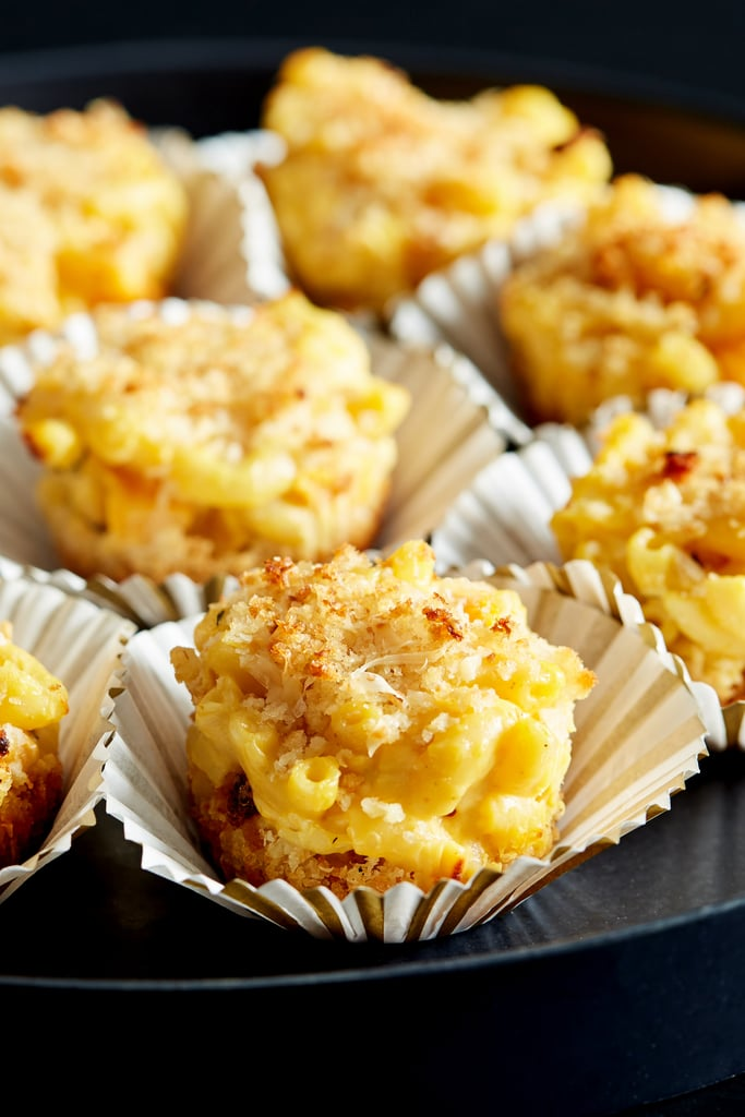 Pumpkin Mac and Cheese Muffins