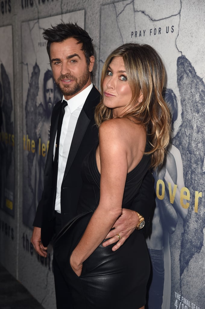 "Jennifer Aniston and Justin Theroux made a striking pair when they attended HBO's season three premiere of The Leftovers in LA on Tuesday night. The couple — who recently rang in Jennifer's 48th birthday in Mexico — held hands and flashed sweet smiles as they walked down the red carpet in their matching black ensembles. Justin's show returns to HBO on April 16, though for some, it's bittersweet as it is also the final season. The third season finds the Garvey family relocating again, this time to Australia, but some of it will also take place in Texas. Just last week, Justin attended CinemaCon in Las Vegas, where he not only promoted his latest project, The Lego Ninjago Movie, but he also dished on Jennifer's special birthday celebration in Cabo. ""We do special things. I did a little night for her birthday where we went to a special dinner and had a piñata,"" he revealed."