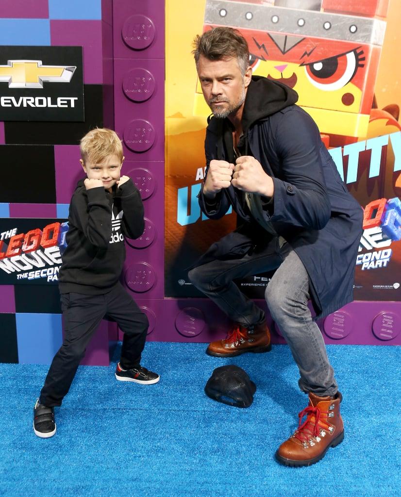 Pictured: Josh Duhamel and son, Axl Jack Duhamel