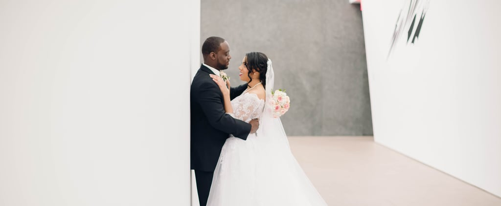 An Art Museum Was the Perfect Wedding Venue to Exhibit This Couple's Love