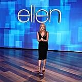 Jennifer Aniston Hosting The Ellen DeGeneres Show