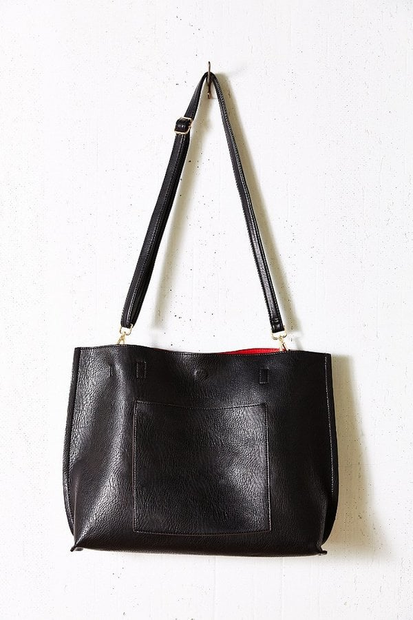 6d6b3b9c64e63 Urban Outfitters Reversible Vegan Leather Oversized Tote Bag | Best ...
