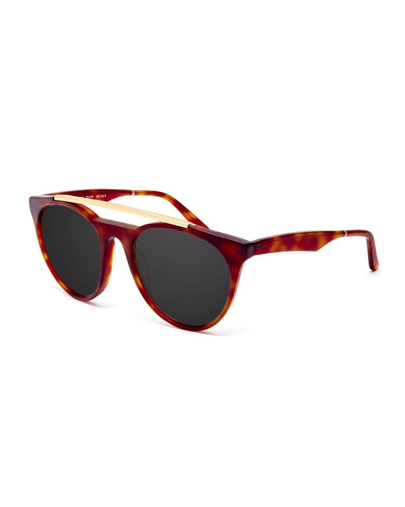 Smoke X Mirrors Sugarman Rounded Square Sunglasses ($295)