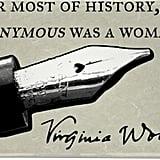 Virginia Woolf Quote Magnet