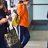 Selena Gomez at JFK