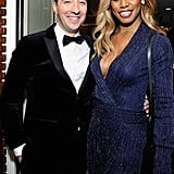 Pictured: Tony Hale and Laverne Cox