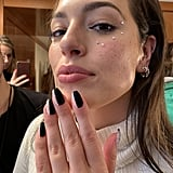 Ashley Graham Nail Art At Fall/Winter 2019 Christian Siriano