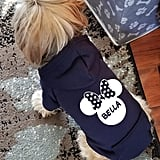 Custom Minnie Bow Dog Sweatshirt