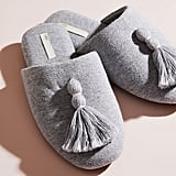 Skin Worldwide Vara Slipper in Heather Gray