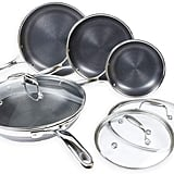 Hexclad Hybrid Nonstick Cookware 7-Piece Set