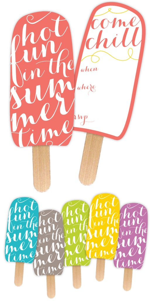 graphic relating to Popsicle Printable known as Summer season Social gathering Printable Popsicle Get together Invites, Online games