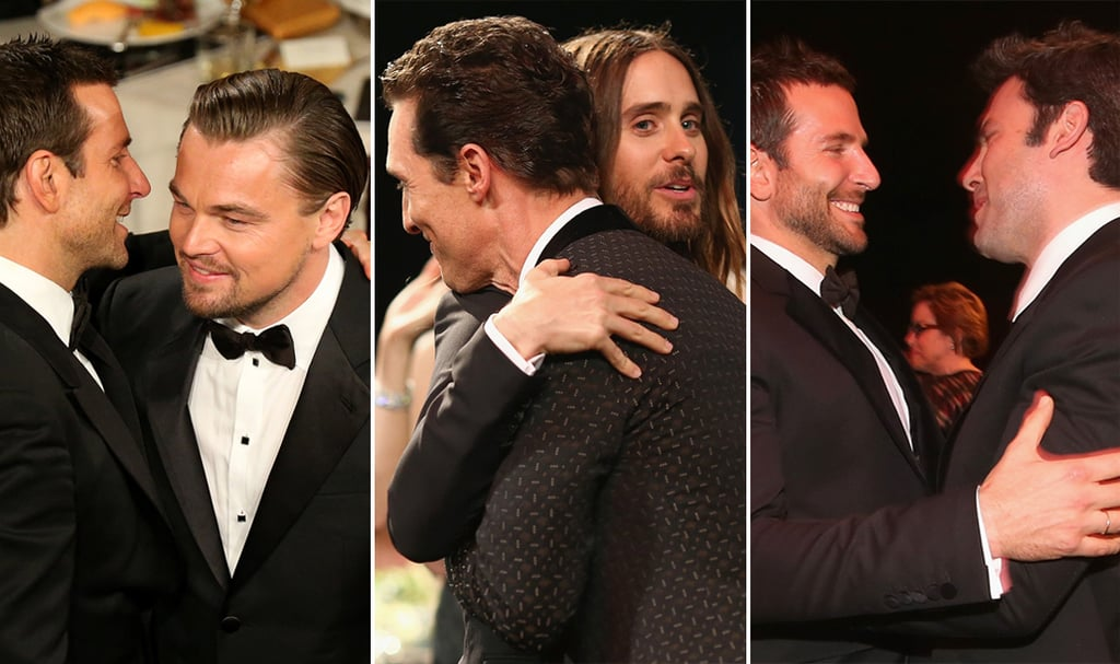 Celebrities Hugging at Award Shows 2014