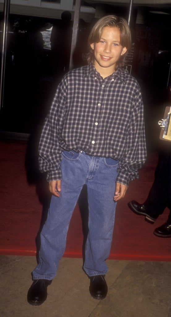 Style-Wise, He Managed to Rock These Oh-So-'90s Jeans
