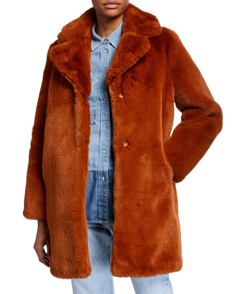 MKT Studio Masolin Faux-Fur Jacket