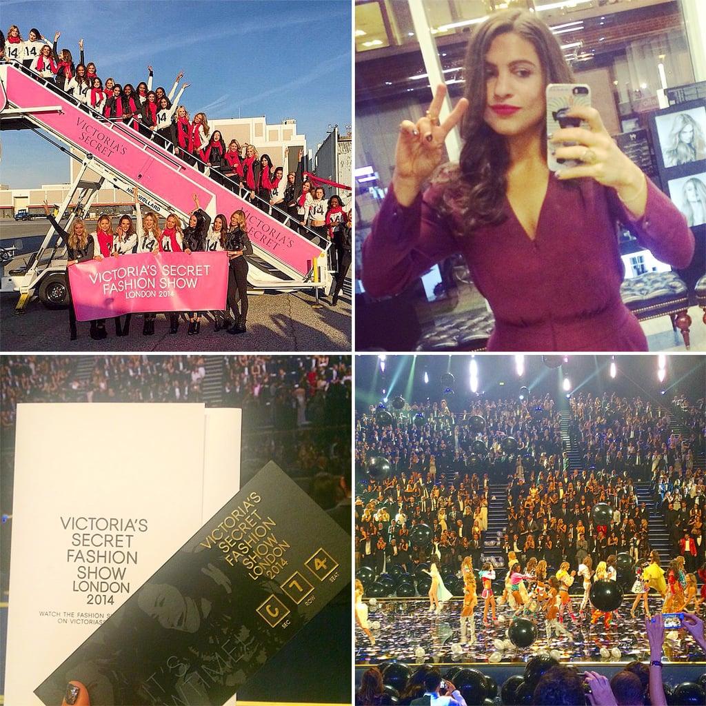 Victoria's Secret Fashion Show 2014 Angel Plane