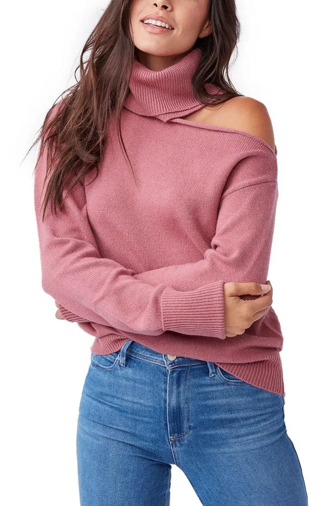 Raundi Cold Shoulder Sweater