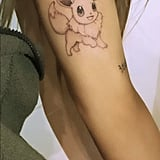 Here's a Look at Ariana's New Eevee Tattoo