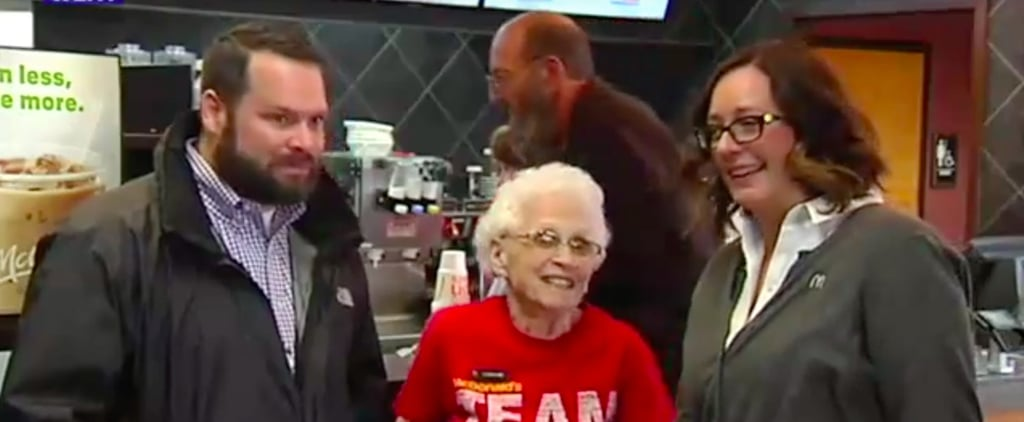 Meet the 94-Year-Old McDonald's Employee Who Will Inspire (and Shame) You