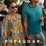 Jay-Z and Beyoncé Knowles celebrated their fifth wedding anniversary in Havana, Cuba.