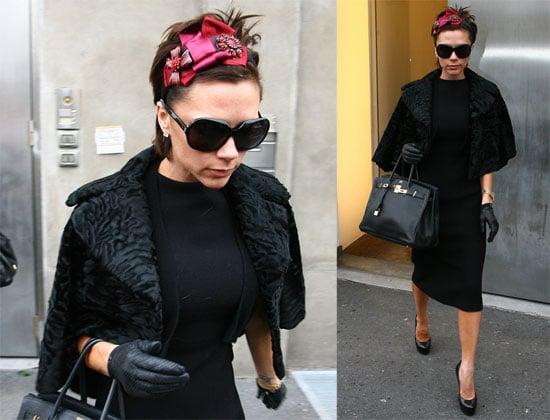 Victoria Beckham in Milan