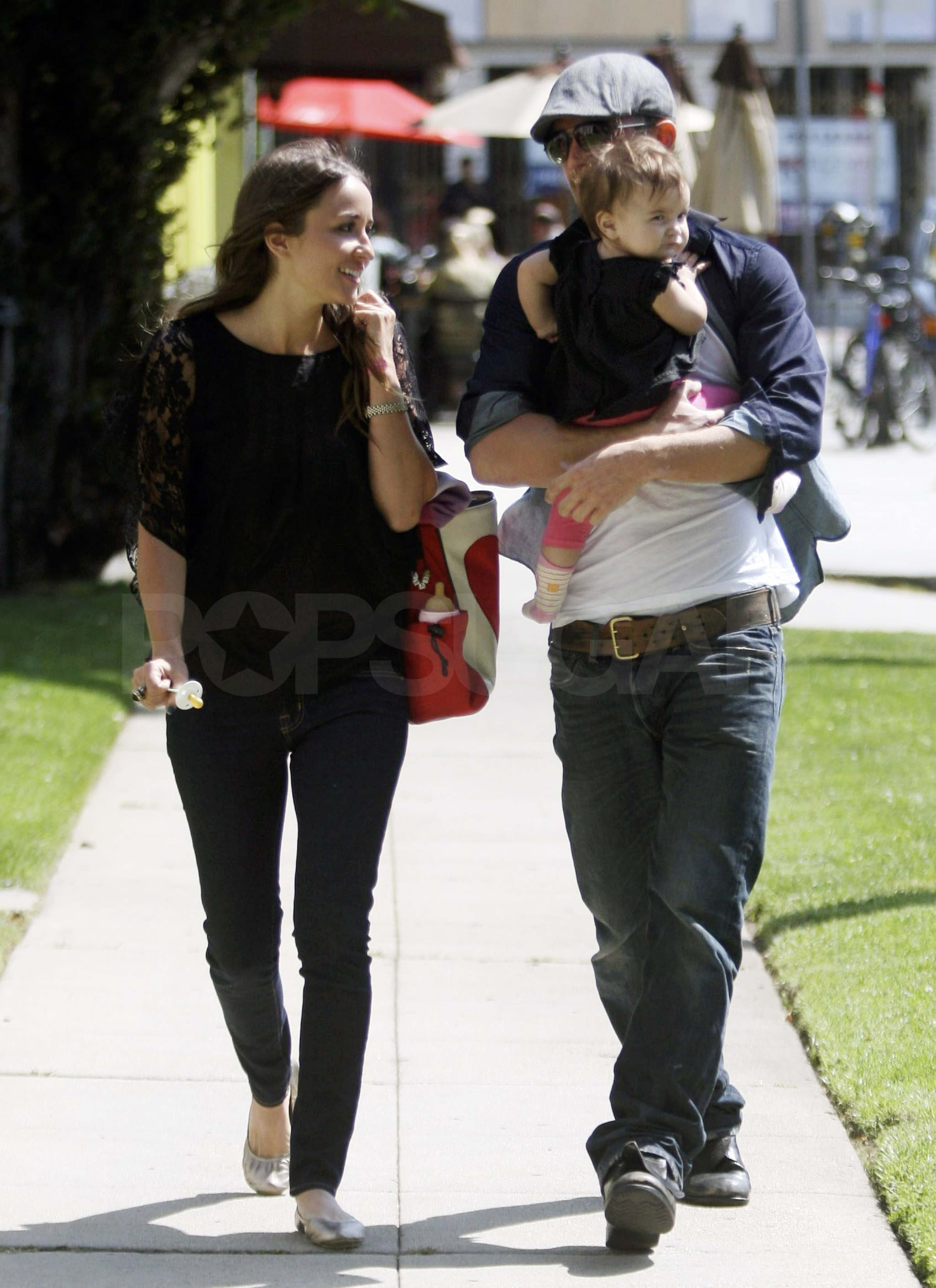 Pictures of Cam and baby