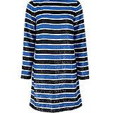 Michael Kors Stripe Sequin Dress