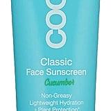 Coola Suncare Classic Face Organic Sunscreen SPF 30 Lotion