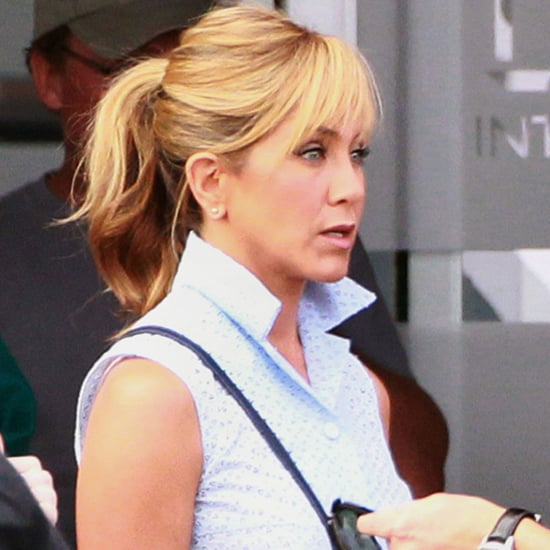 Jennifer Aniston Filming at Albuquerque Airport | Pictures