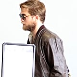 Rob arrived at LAX solo for an outbound flight.