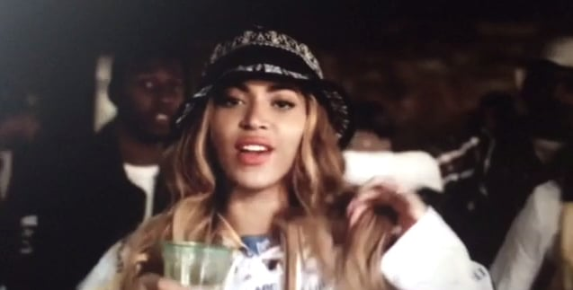 Yes, Beyoncé sported a bucket hat.