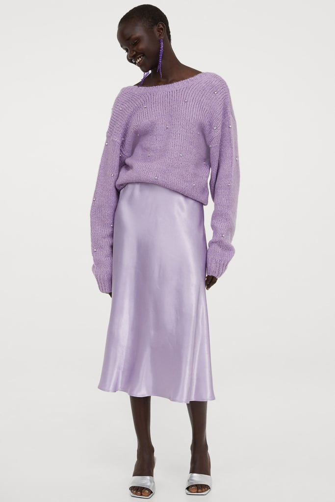 Calf-Length Skirt