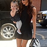 Victoria Beckham and Harper Beckham Look Ladylike Together in NYC